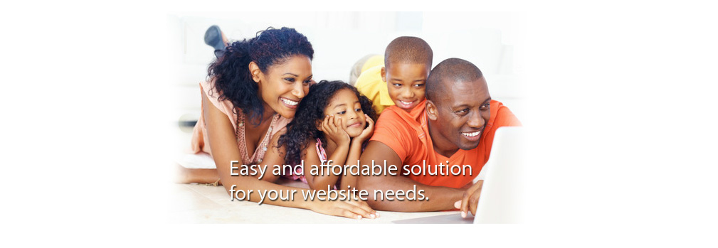 easy and affordable web solutions graphic